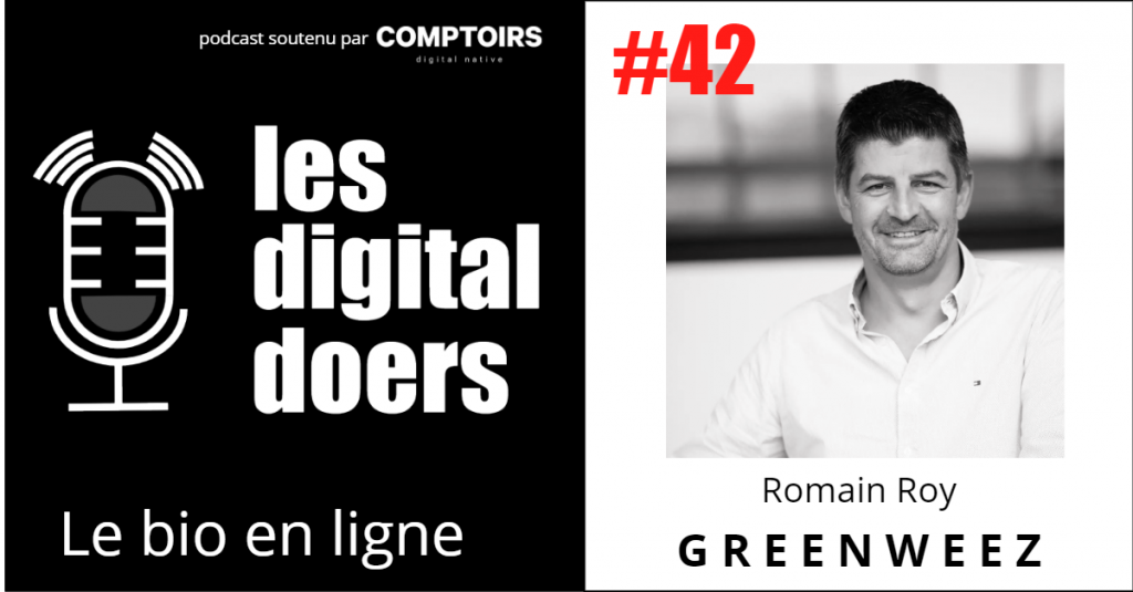 Romain Roy, fondateur et CEO de Greenweez, leader du bio en ligne