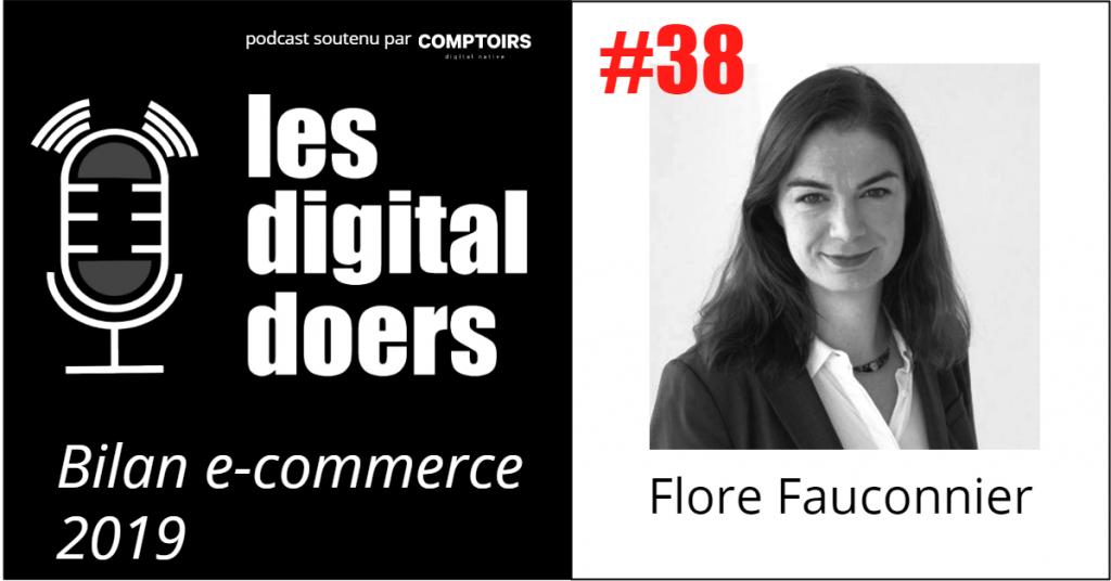 Flore Fauconnier - Star du e-commerce