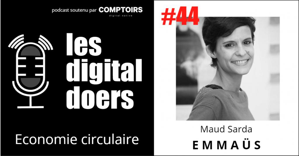 Maud Sarda - Directrice de Label EMMAÜS